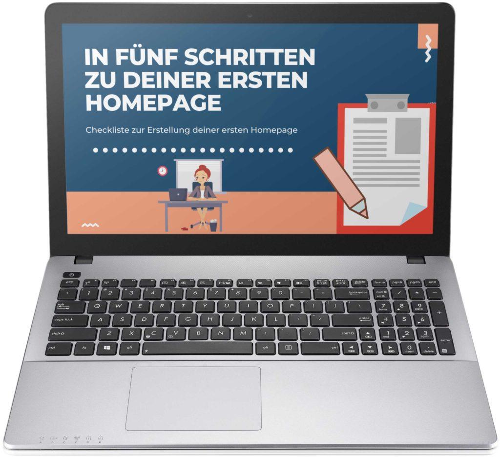 Homepage Planen Checkliste