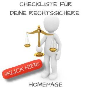 Checkliste Rechtssicherheit